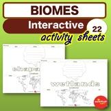 Science * ECOSYSTEMS & BIOMES - Interactive Activites * NO PREP