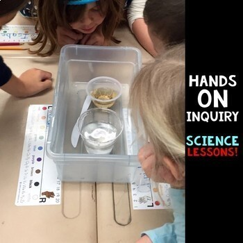 At Home Learning Science Curriculum kindergarten and 1st Grade Yearlong BUNDLE