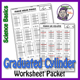 Science Measurement: Practice with Graduated Cylinder Work