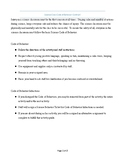 Science Behavior Code of Conduct Contract