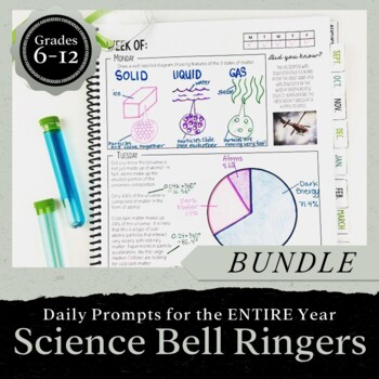 Science Bell Ringer Journal for the Entire School Year: BUNDLE