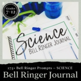 Science Bell Ringer Journal for the Entire School Year: Middle & High School
