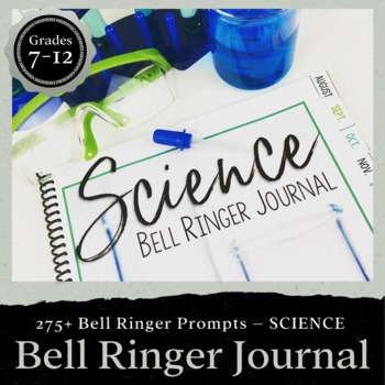 Chemistry teaching resources lesson plans teachers pay teachers science bell ringer journal for the entire school year middle high school fandeluxe Gallery