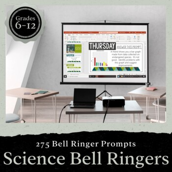 Science Bell Ringers for the Entire School Year: PRESENTATION FORM