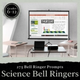 Science Bell Ringers for the Entire School Year: PRESENTAT