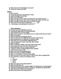 Science Bellringer Questions