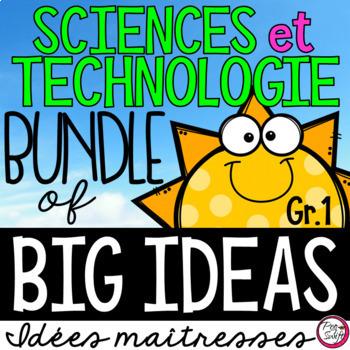 Science Big Ideas 1 - FRENCH • BUNDLE