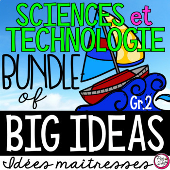 Science Big Ideas 2 - FRENCH • BUNDLE
