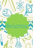 Science Binder Cover