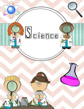 Science Binder Cover or Classroom Poster
