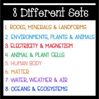 Science Bingo Bundle!