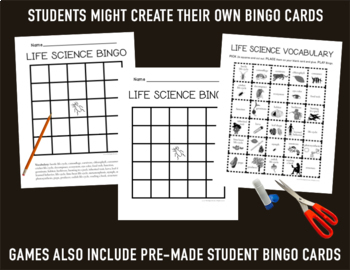 Science Bingo Bundle