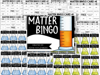 Science Bingo