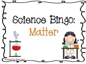 Science Bingo: Matter
