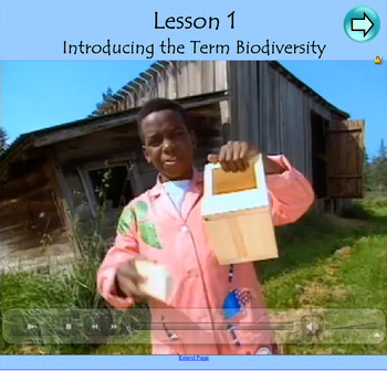 Science Biodiversity Unit of Work with Interactive Notebook