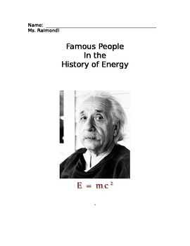 Science Biography Project