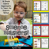 Science Experiments: Science Blasters by Kim Adsit