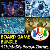 Science Game Board Bundle - 9 Science Themed Game Boards