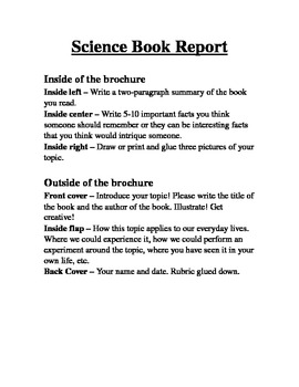 Science Book Report