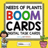 Science Boom Cards™: What Plants Need to Grow Boom Cards™ and Reading Passage
