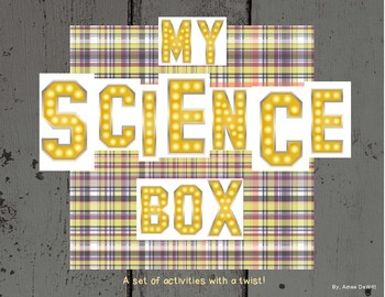 Force and Motion Science Box (A great way to review!)