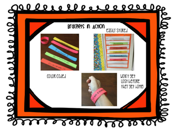 Science Brag Bracelets