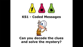 Science Lesson Plan + PowerPoint - Science Detectives and Secret Messages 4-11yr