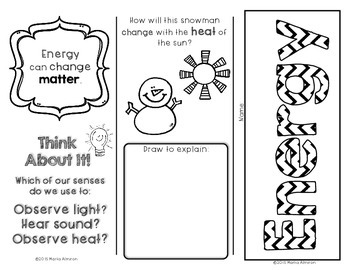 My Science Brochures - ENERGY