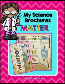 My Science Brochures - MATTER