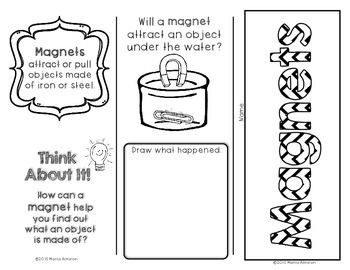 My Science Brochures - MOTION, POSITION, and MAGNETS