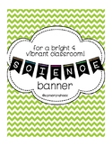 Science Bulletin Board Banner