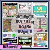 Science Bulletin Board Bundle of 12 Back to School