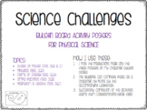 Science Bulletin Board Challenges BUNDLE