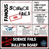 Science Bulletin Board Famous Scientist Fails for Growth M