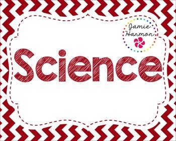 Science Bulletin Board Headers