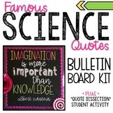 Science Bulletin Board Kit and Analysis Activity - Einstei