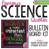 Science Bulletin Board Kit and Analysis Activity - Einstei