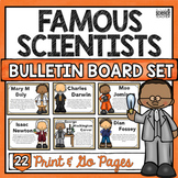 FAMOUS SCIENTISTS BULLETIN BOARD SET