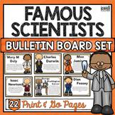 FAMOUS SCIENTISTS BULLETIN BOARD SET