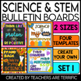 STEM & Science Bulletin Board Templates Set 1
