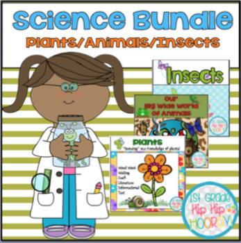 Science Bundle #2...Plants, Animals, Insects