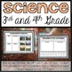 Science Bundle (3rd and 4th Grade)