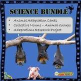 Science Bundle: Animal Adaptations Science Centers