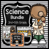 Science Bundle (Emergency Sub Plan, Word of the Day, Scien