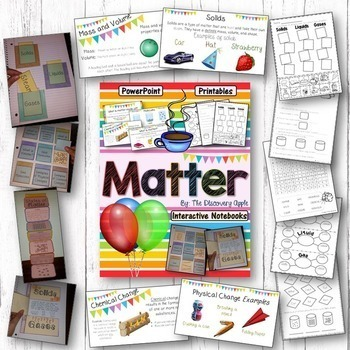 Science Bundle Packs - 6 Units - Interactive Notebooks, PowerPoints, Printables