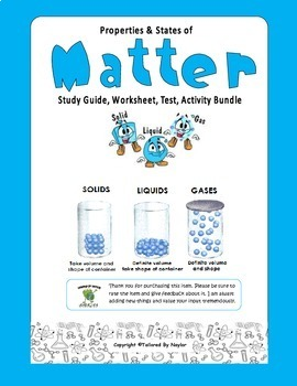 Science Bundle: Phases and Properties of Matter