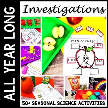 Science Bundle - Seasonal Science All Year - STEM