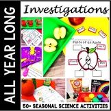 Kindergarten Science Bundle - Seasonal Science All Year - STEM