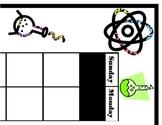 Science Calendar! Science Bulletin Board! Science Theme! Science Classroom!