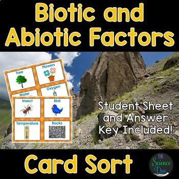 Science Card Sort Bundle (Part 1) - Includes 10 Complete Sets